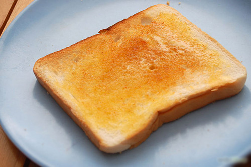 Kết quả hình ảnh cho bánh mì nướng bơ mật ong