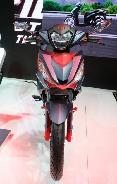 Honda Việt Nam giới thiệu xe tay côn Winner 150cc lên đồ chơi