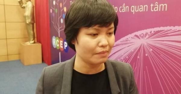 Bà Nguyễn Thị Thu Trang - Đại diện Trung tâm WTO và Hội nhập VCCI