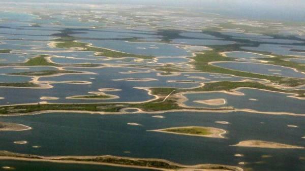 Một phần quốc đảo Kiribati.