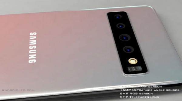 Lác mắt' với thiết kế không thế hoàn hảo hơn của Galaxy Zero  Thế
