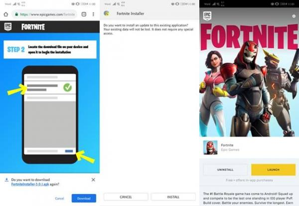 Recommended Specs to Download and Play Fortnite Mobile  Technology
