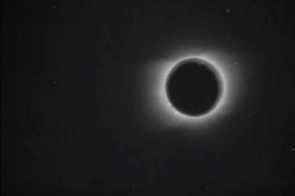 Con người lần đầu tiên ghi hình nhật thực đã gần 120 năm