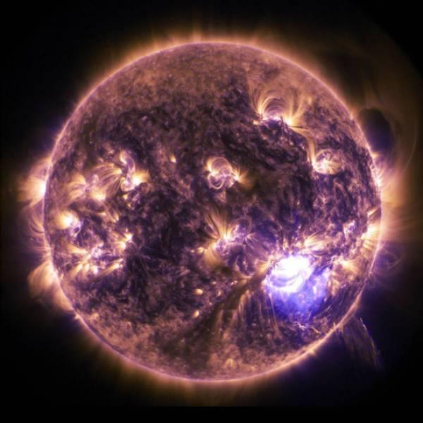 Mặt trời - ảnh: NASA
