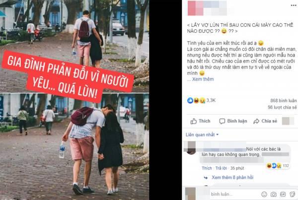 Chiều cao 1m50, cô gái bị gia đình bạn trai cấm yêu vì… quá lùn