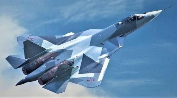 Tiêm kích đa năng Su-57. Ảnh: RT.