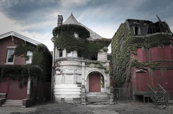 """Những ngôi nhà """"ma ám"""" rùng rợn nhất nước Mỹ"""