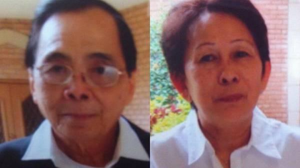 Vợ chồng nạn nhân Long Nguyen và Huong Ly