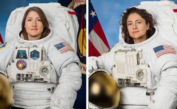 Lần đầu tiên trong lịch sử đã có 2 nữ phi hành gia cùng ra ngoài vũ trụ trên trạm ISS