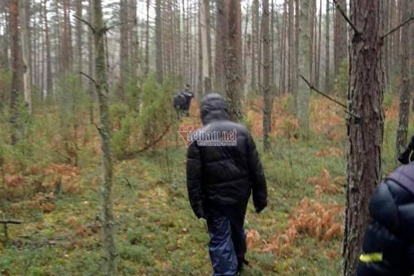 Một chuyến vượt biên từ Nga sang Ba Lan. Ảnh do nhân vật cung cấp