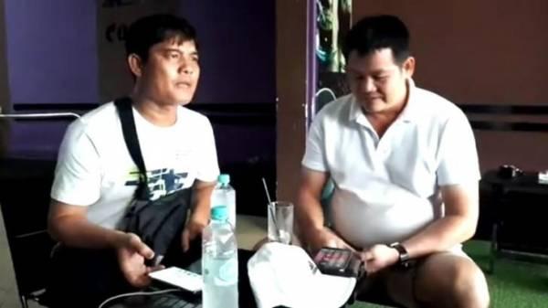 Hiệp sĩ Nguyễn Thanh Hải và anh Nguyễn Tấn Trọng