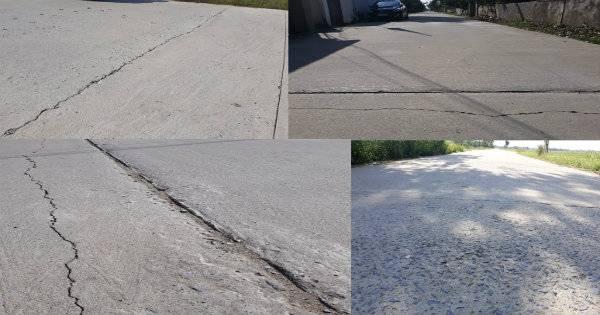 Dự án đường tại xã Hưng Đạo vừa làm xong chưa được bao lâu nhưng đã bộc lộ nhiều bất cập, kém chất lượng, hư hỏng, nứt nẻ…