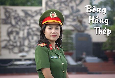Trung tá Lê Hương Giang.
