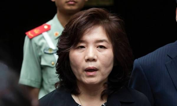 Thứ trưởng Bộ Ngoại giao Triều Tiên Choe Son Hui. Ảnh: Reuters.
