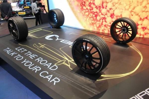 Lốp xe thông minh dùng mạng 5G giao tiếp với tài xế