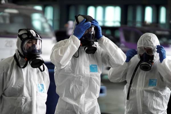 Số ca nhiễm bệnh ở Hàn Quốc đang ở mức đáng báo động. ()