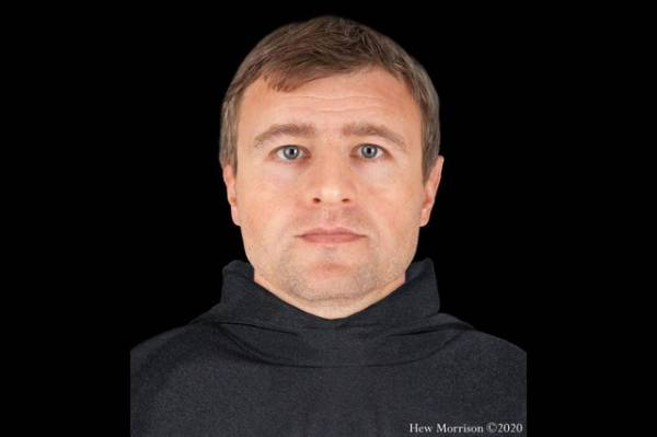 Successfully recreating the face of a priest who died 900 years ago