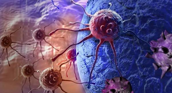 Detects cancerous tumors with strong self-defense against viruses